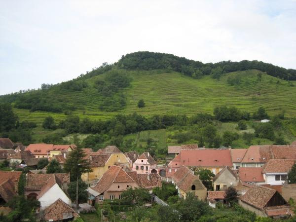 vedere din cetatea Biertan